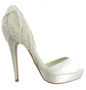 Precioso zapato de novia