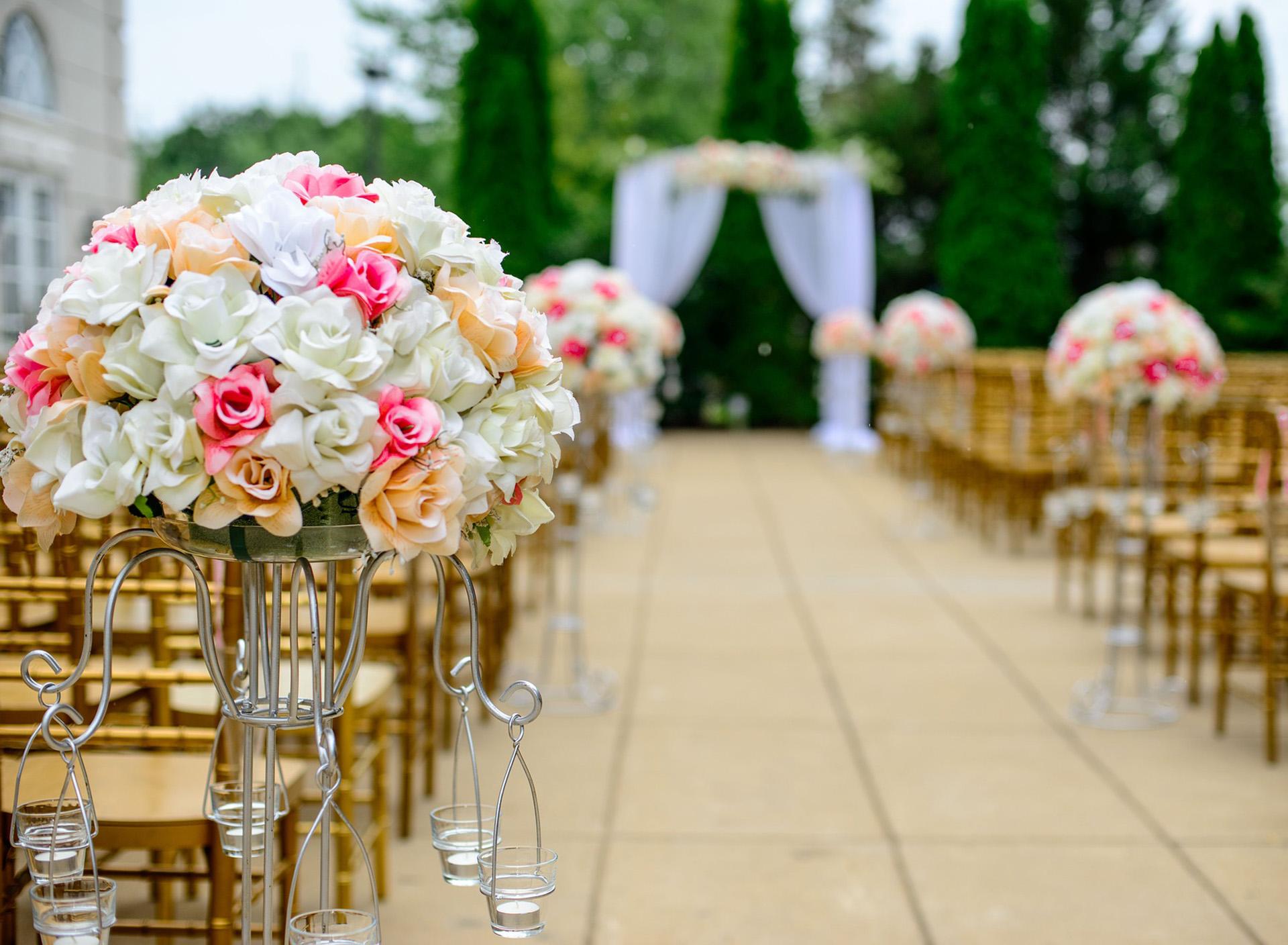 Decoración boda Bodaplanea