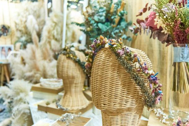 Complementos novia flores