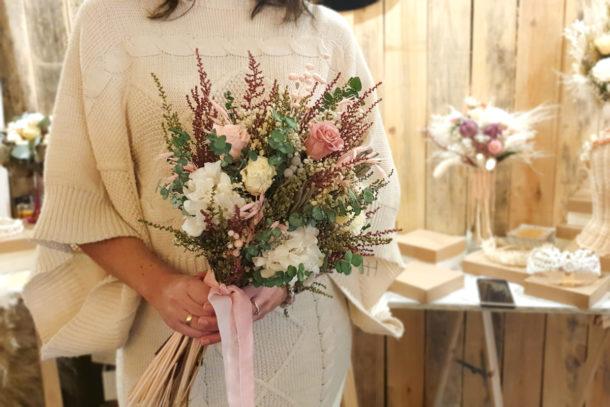 Ramo de novia flores preservadas