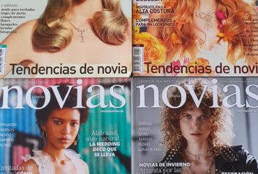 Revista Novias España. Así han cambiado las ideas para bodas en los últimos 10 años