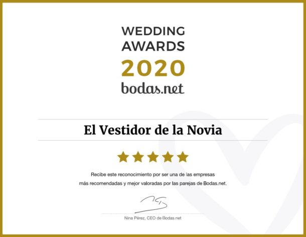 El Vestidor de la Novia Wedding Awards