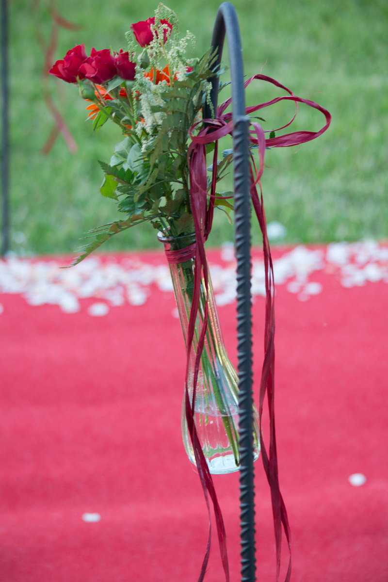 Decoración floral bodas