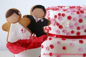 Detalles de boda de Anastasia & Sebastien