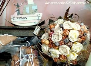 Ramos de novia de Anastasia & Sebastien