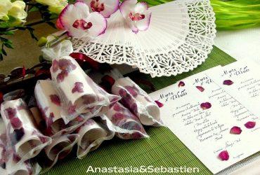 Ideas originales para Bodas de Anastasia & Sebastien