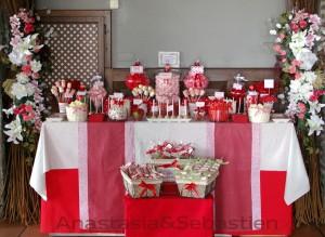 Candy Bar para Bodas de Anastasia & Sebastien
