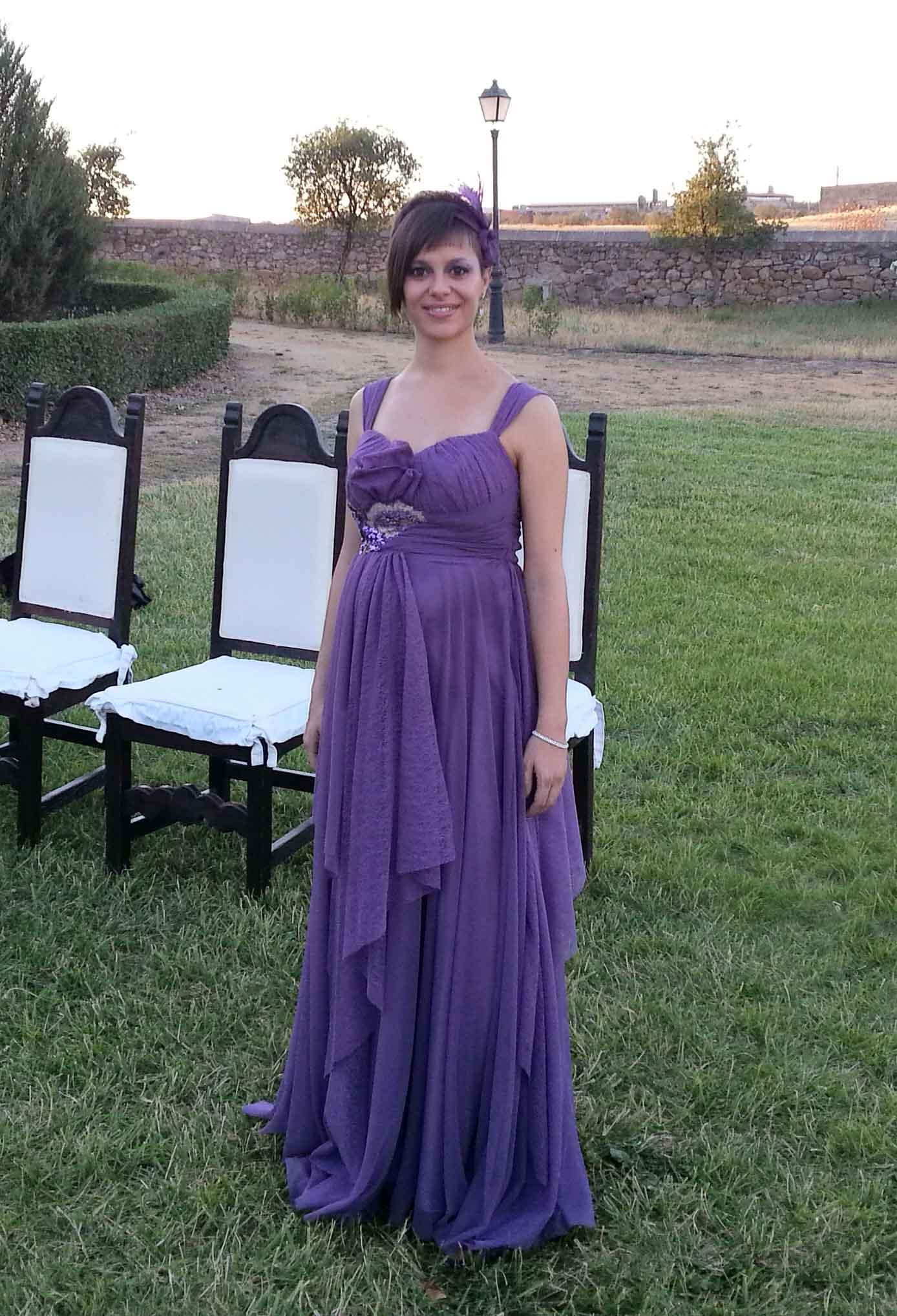 Encantador Vestido De Boda Largo De Invitados Patrón - Vestido de ...